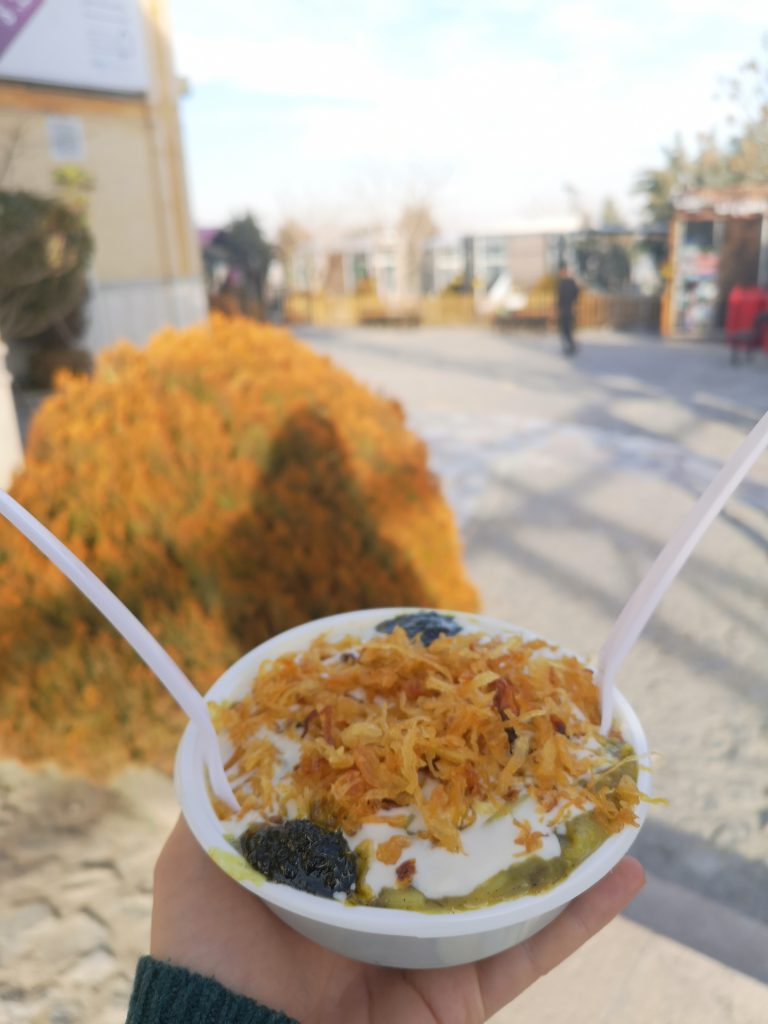 Isfahan tipps Imbiss soffeh