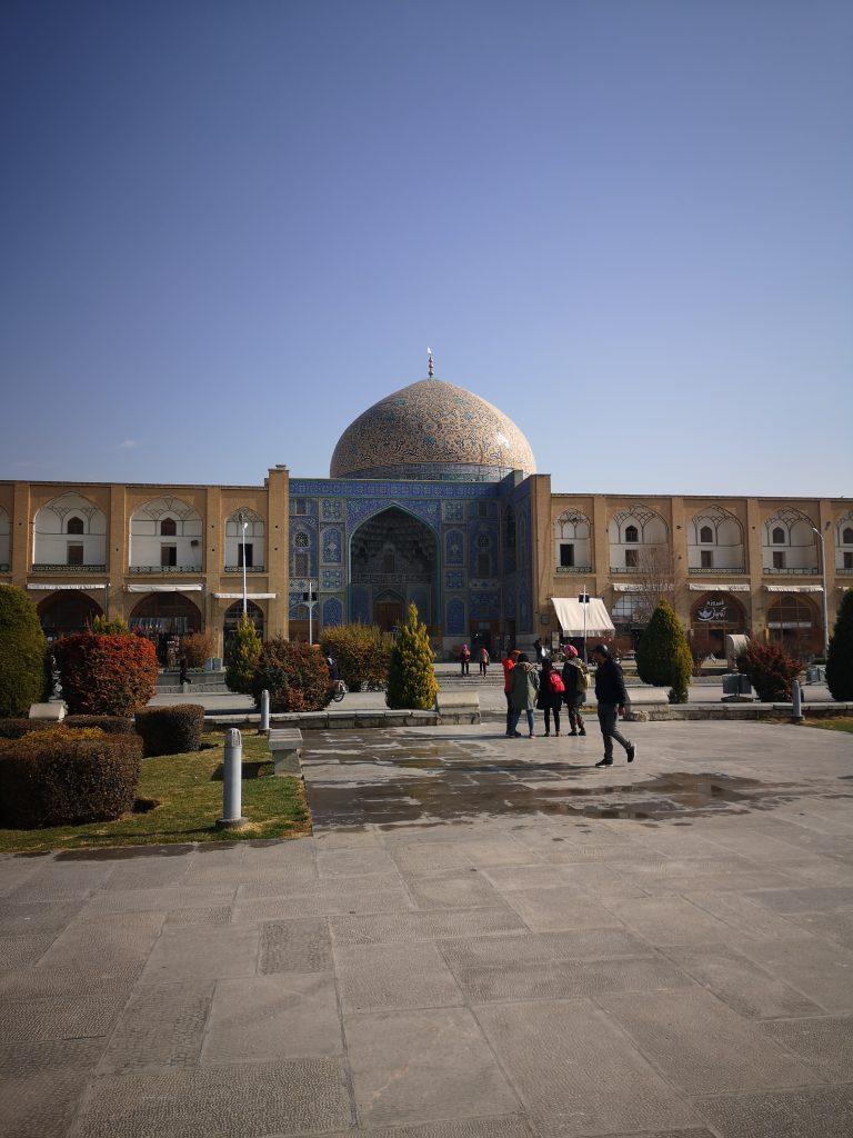 Isfahan tipps Moschee Imam platz