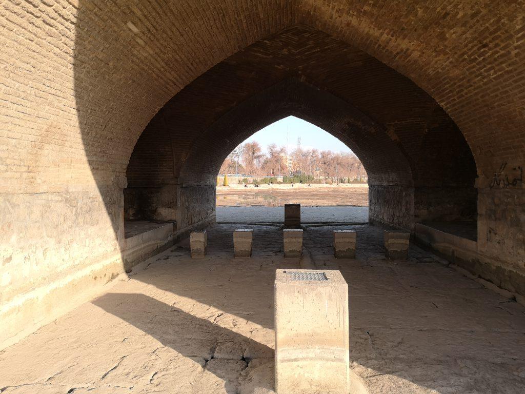 Isfahan tipps Fluss Brücke