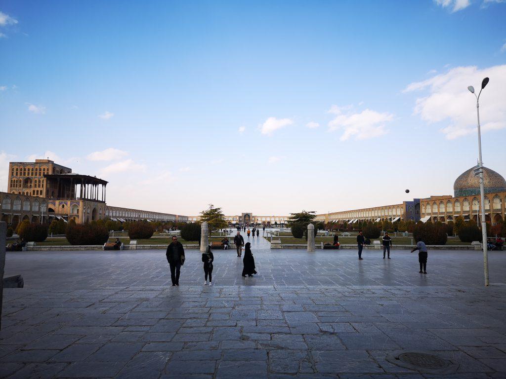 Isfahan tipps Imam platz