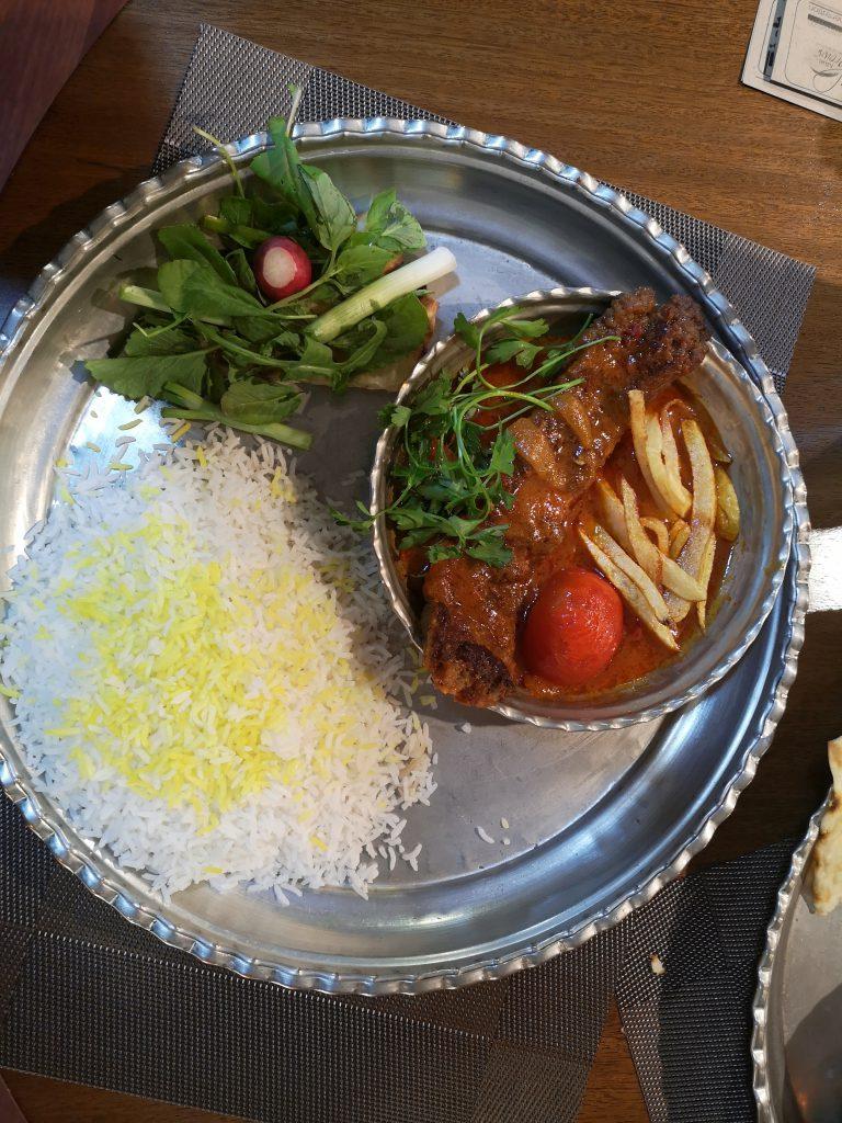 Teheran-Tipps-Essen-Reis-mit-Safran