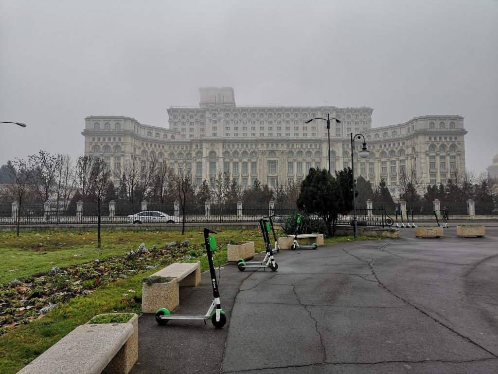 Bukarest als Zwischenstopp auf der Reise Zug Berlin Teheran