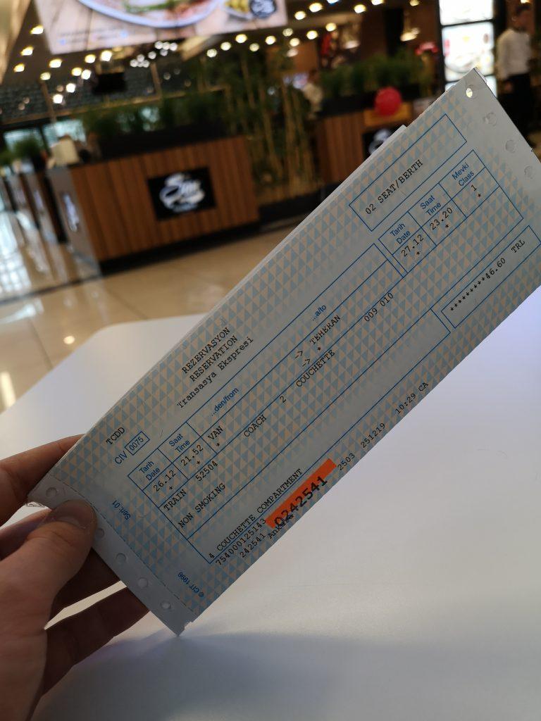 fahrkarte transasia express ticket zug berlin teheran