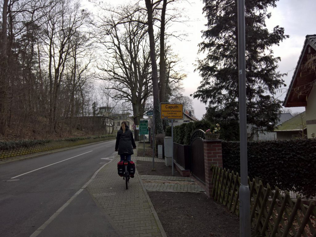 Caputh-Radtour-Einfahrt