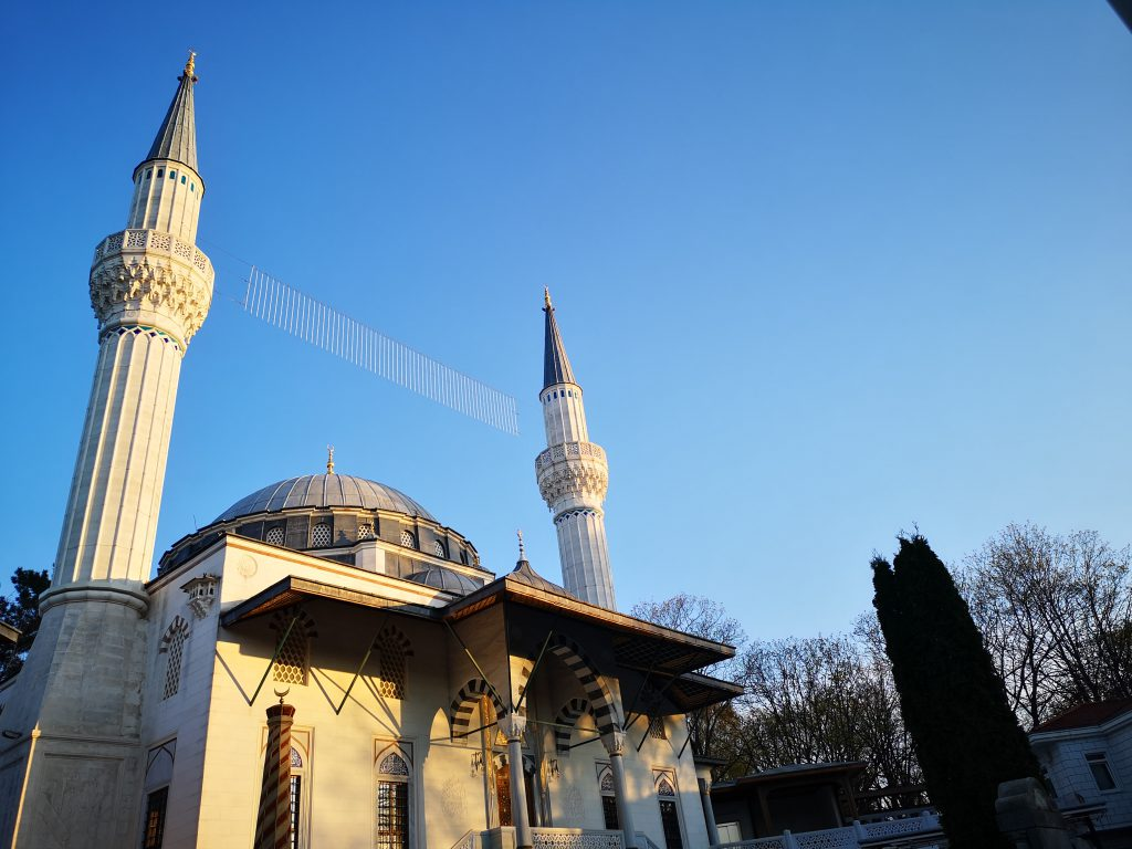 Moschee Berlin Tempelhof Weltreise in Berlin