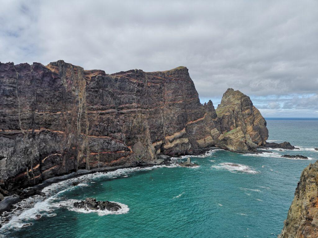 Madeira-Tipps-Felsen-Klippe
