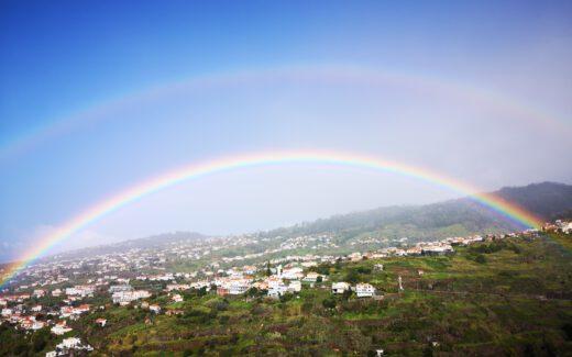 Madeira-Tipps-Regenbogen-Calheta