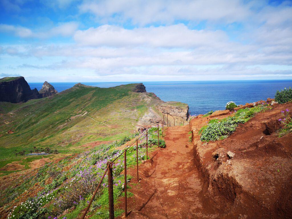 Madeira-Tipps-Sao-Lorenco-rote-Erde